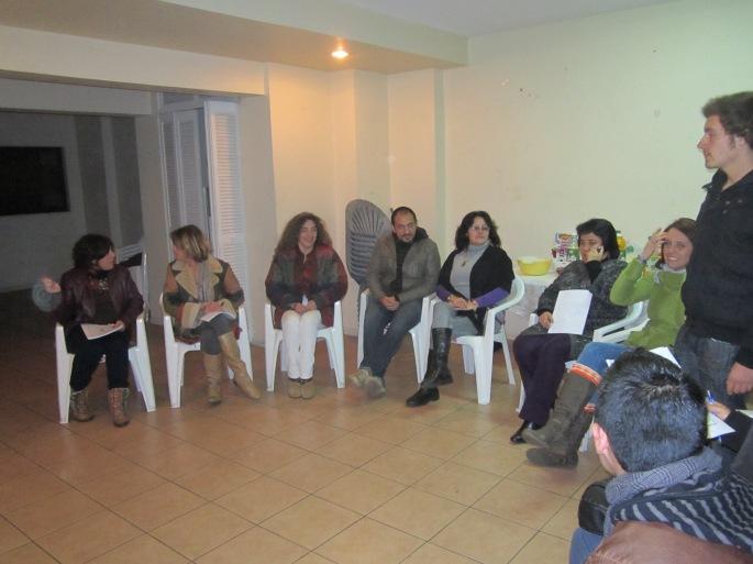 Gran grupo de hoy!!!! Carolina, Vicky, Verónica, Raúl, Magdalena, Elizabeth, Priscilla, Sebastián