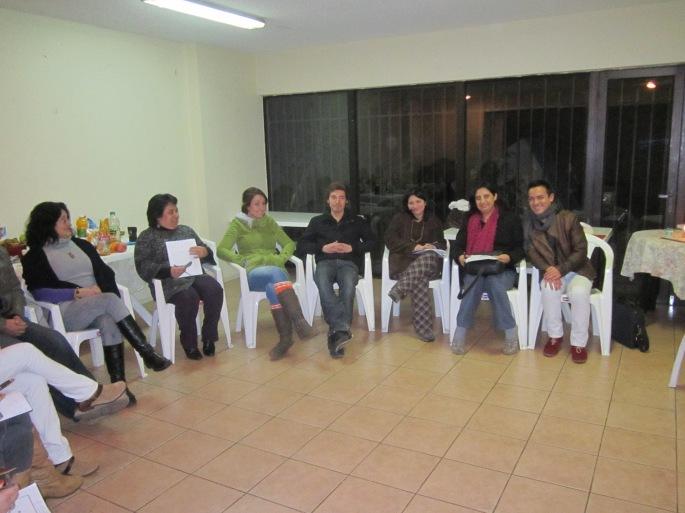 Magdalena, Priscilla, Elizabeth, Sebastián, Carmen Luz, Yarellina, Erick