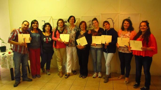 Que grupo precioso!!!!!!!!!!!! Alejandro, Pabla, Jenny, Patricia Selman, María Elena, Regina, Catalina, Patricia Pontigo, Nora