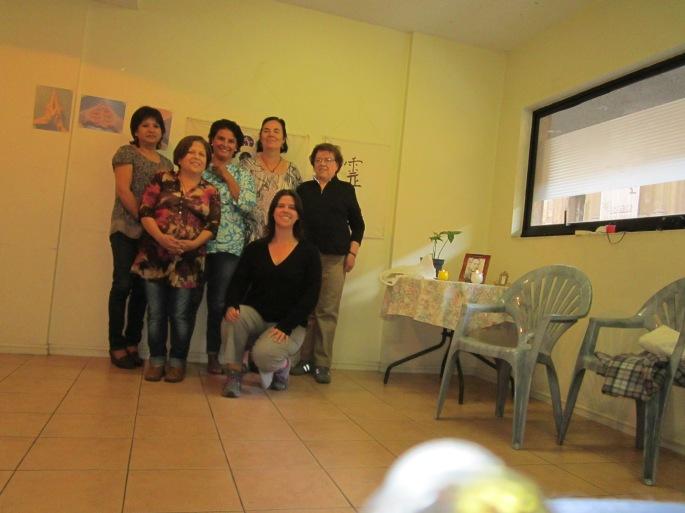 Hemos tenido un hermoso día junto a Anamaría Marín Rosales, Bárbara Ormeño, Marisol Cabrera, Bárbara Barrios y Alicia González